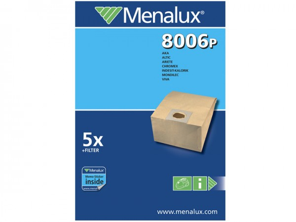 Menalux 8006 P Staubsaugerbeutel - Inhalt 10 Stück
