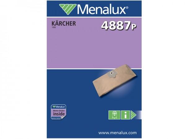 Menalux 4887 P Staubsaugerbeutel - Inhalt 10 Stück