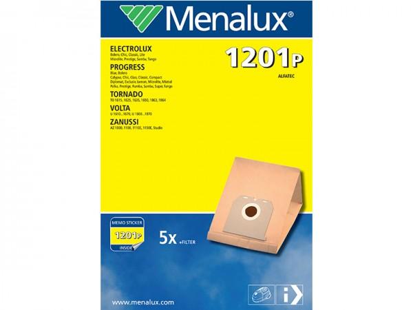 Menalux 1201 P Staubsaugerbeutel - Inhalt 10 Stück