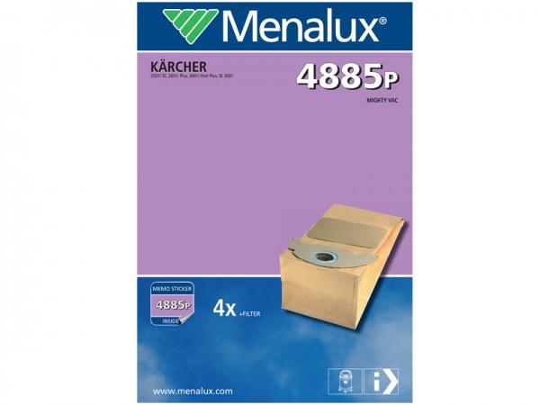 Menalux 4885 P Staubsaugerbeutel - Inhalt 8 Stück