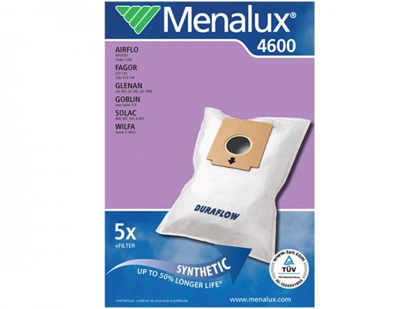 Menalux 4600 Staubsaugerbeutel - Inhalt 10 Stück