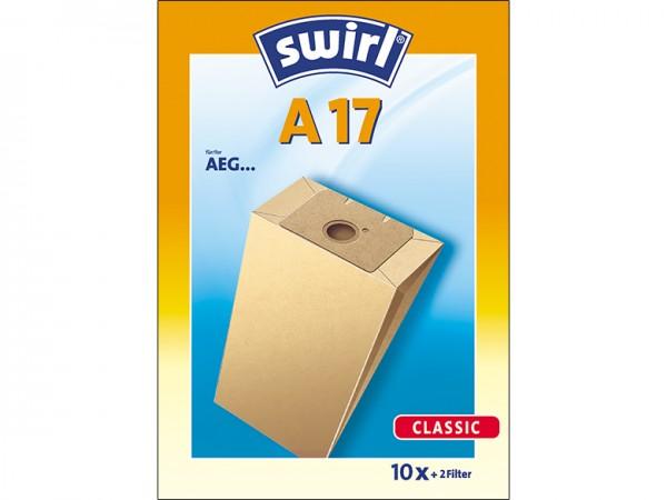 Swirl A 17 Staubsaugerbeutel - Inhalt 20 Stück