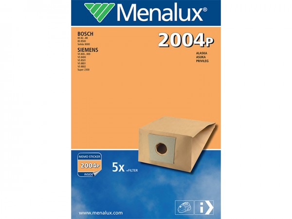 Menalux 2004 P Staubsaugerbeutel - Inhalt 10 Stück