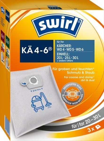 Swirl KÄ 4-6 Staubsaugerbeutel - Inhalt 6 Stück