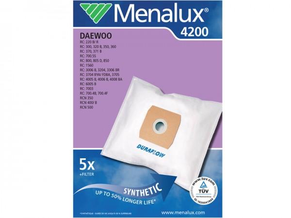 Menalux 4200 Staubsaugerbeutel - Inhalt 10 Stück