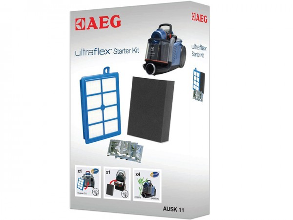 AEG AUSK 11 Filter-Set für UltraFlex und SilentPerformerCyclonic, LX7, LX8