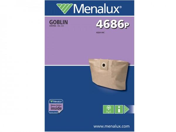 Menalux 4686 P Staubsaugerbeutel - Inhalt 6 Stück