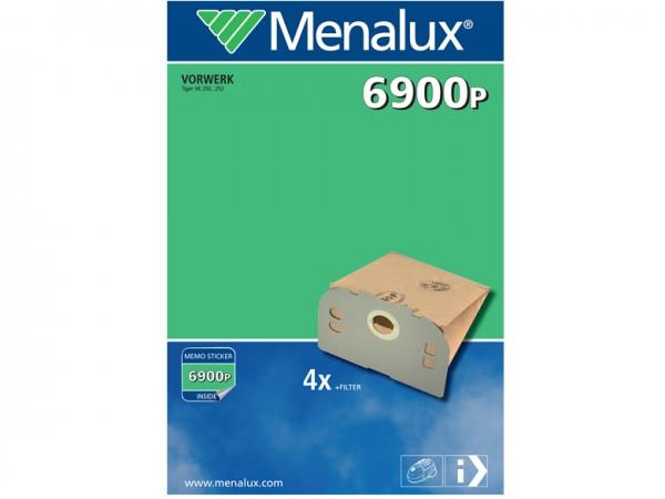 Menalux 6900 P Staubsaugerbeutel - Inhalt 8 Stück