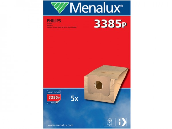 Menalux 3385 P Staubsaugerbeutel - Inhalt 10 Stück