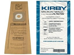 9 Original Kirby Staubsaugerbeutel Micron Magic Filtration