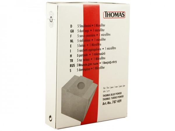 THOMAS Staubbeutel-Set 22 - 787409 - Inhalt 10 Stück