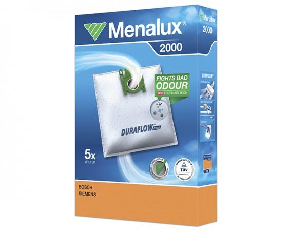 Menalux 2000 Staubsaugerbeutel - Inhalt 10 Stück