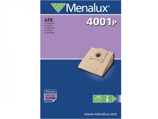 Menalux 4001 P Staubsaugerbeutel - Inhalt 10 Stück