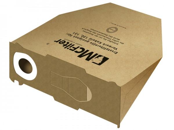 10 Staubbeutel geeignet für Vorwerk Kobold 130, 131, SC - 3-lagig