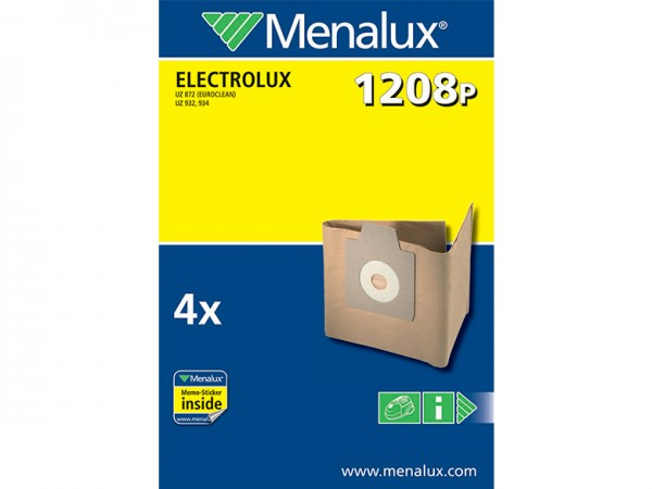 Menalux 1208 P Staubsaugerbeutel - Inhalt 8 Stück