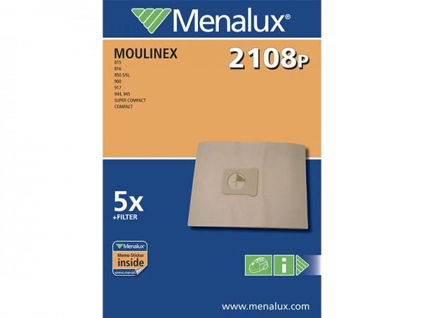 Menalux 2108 P Staubsaugerbeutel - Inhalt 10 Stück
