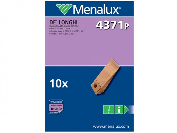 Menalux 4371 P Staubsaugerbeutel - Inhalt 20 Stück