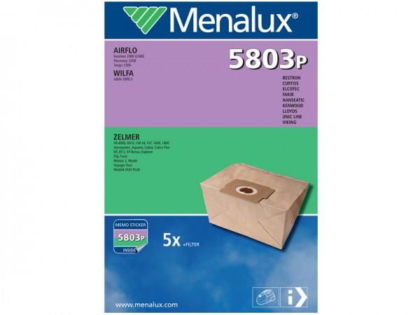 Menalux 5803 P Staubsaugerbeutel - Inhalt 10 Stück