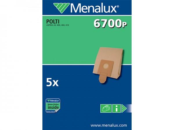 Menalux 6700 P Staubsaugerbeutel - Inhalt 10 Stück