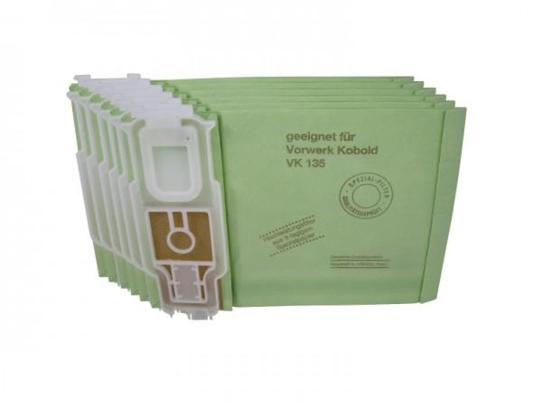 6 Staubbeutel geeignet für Vorwerk Kobold 135, 136 SC - 4-lagig