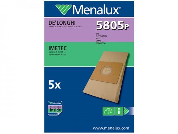 Menalux 5805 P Staubsaugerbeutel - Inhalt 10 Stück