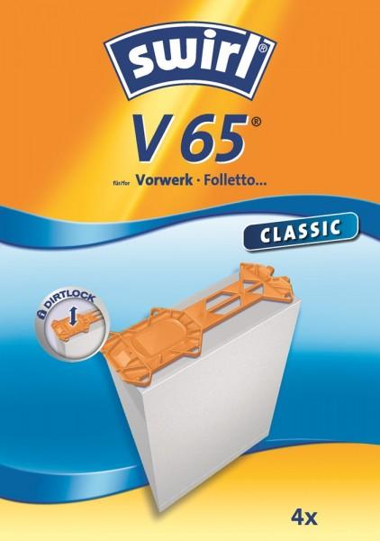 Swirl V 65 Staubsaugerbeutel - Inhalt 8 Stück