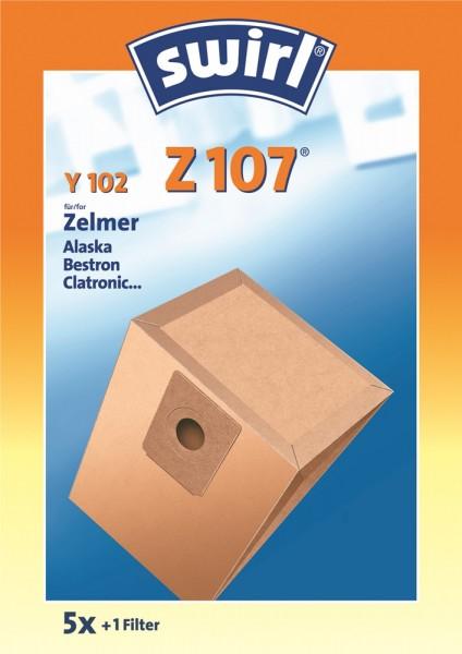 Swirl Z 107 Staubsaugerbeutel - Inhalt 10 Stück