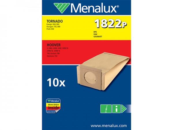 Menalux 1822 P Staubsaugerbeutel - Inhalt 20 Stück