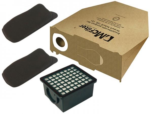 Filterset geeignet für Vorwerk Kobold 130, 131, SC Vorratspack