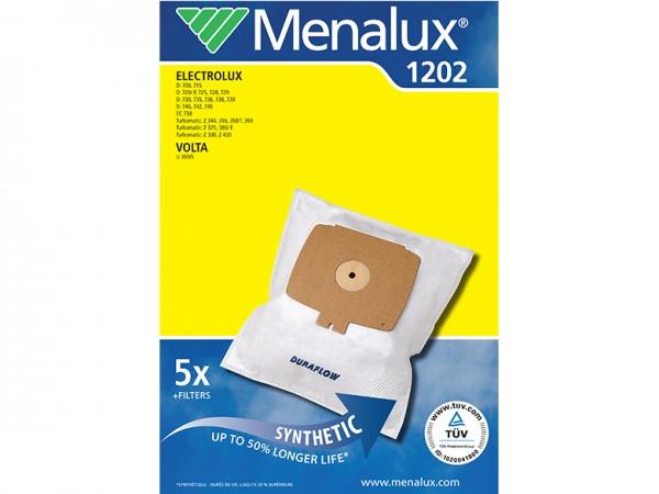 Menalux 1202 Staubsaugerbeutel - Inhalt 10 Stück