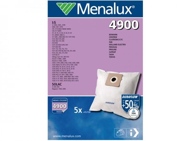 Menalux 4900 Staubsaugerbeutel - Inhalt 10 Stück