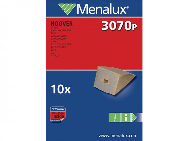 Menalux 3070 P Staubsaugerbeutel - Inhalt 20 Stück