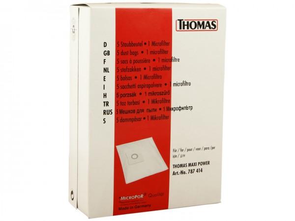 THOMAS Staubbeutel-Set 25 - 787414 - Inhalt 10 Stück