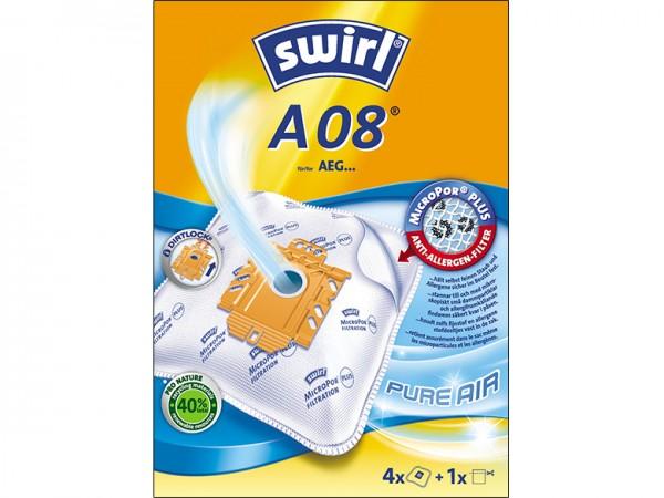 Swirl A 08 Staubsaugerbeutel - Inhalt 8 Stück