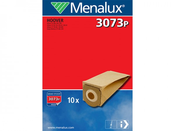Menalux 3073 P Staubsaugerbeutel - Inhalt 20 Stück