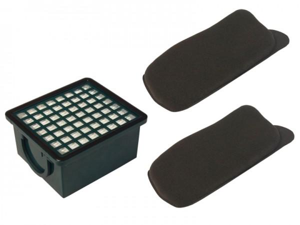 Mikrofilter/Aktivkohlefilter Set geeignet für Vorwerk Kobold 130/131