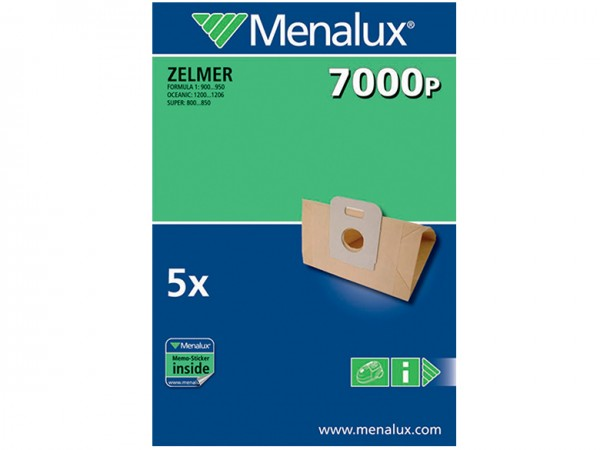 Menalux 7000 P Staubsaugerbeutel - Inhalt 10 Stück