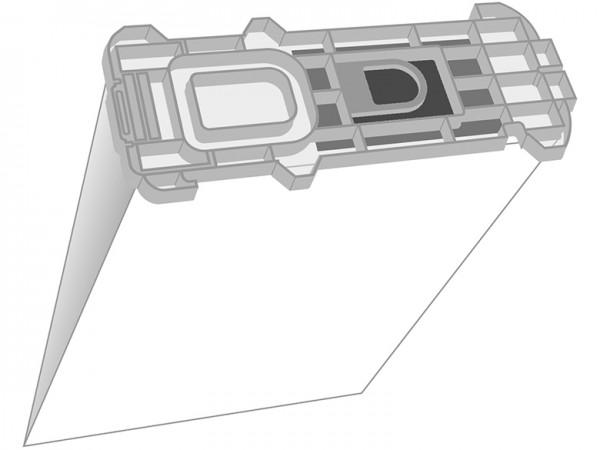 EuroPlus VO 1135 Staubsaugerbeutel - Inhalt 8 Stück