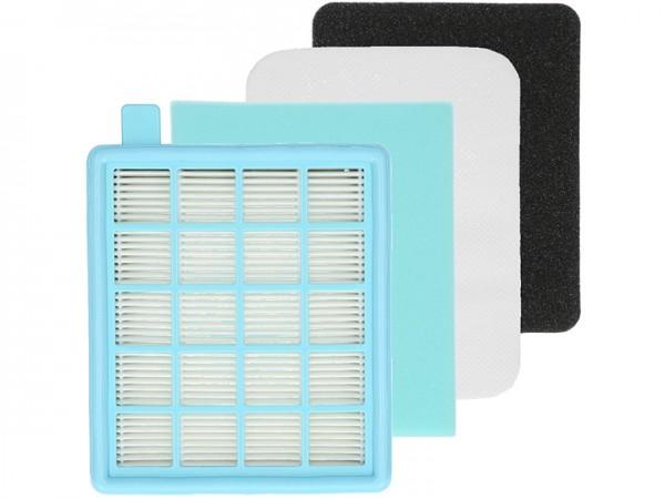 Filterset XF1577 geeignet für Philips PowerPro Active / Compact