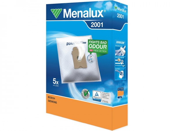 Menalux 2001 Staubsaugerbeutel - Inhalt 10 Stück