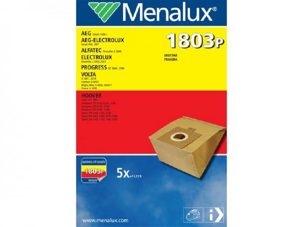 Menalux 1803 P Staubsaugerbeutel - Inhalt 10 Stück
