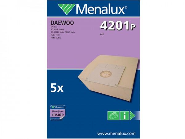 Menalux 4201 P Staubsaugerbeutel - Inhalt 10 Stück