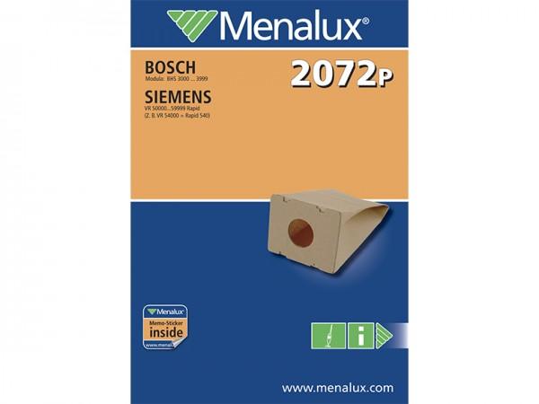 Menalux 2072 P Staubsaugerbeutel - Inhalt 20 Stück
