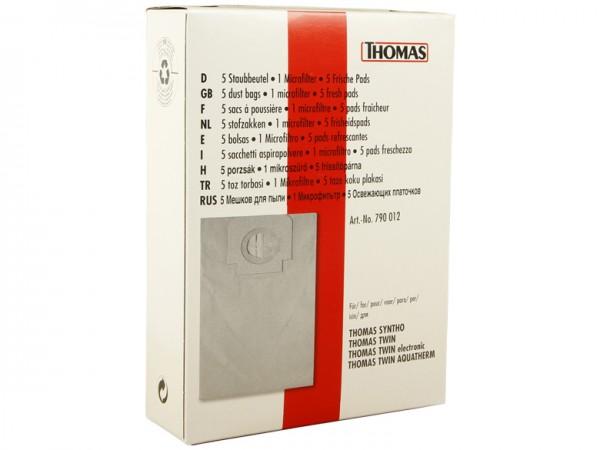 THOMAS Staubbeutel-Set 50 - 790012 - Inhalt 5 Stück