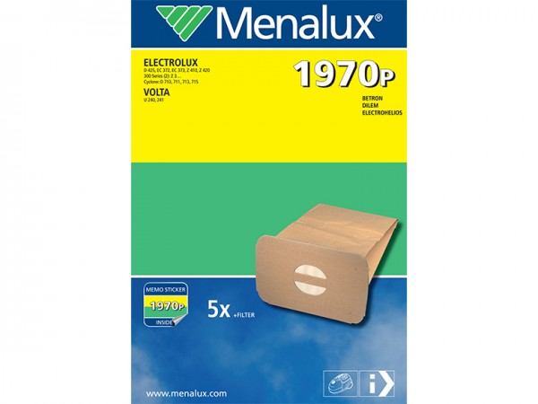 Menalux 1970 P Staubsaugerbeutel - Inhalt 10 Stück